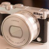 ニコン(Nikon 1)J5のセルフィ使うと猫が可愛らしく写せます