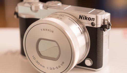 ニコン(Nikon 1)J5で猫の自撮りをしてみたら