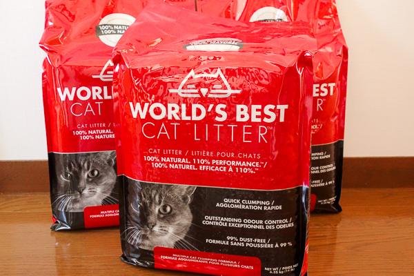 安心安全な猫砂World's Best Cat Litter(ワールドベストキャットリッター)の本音レビュー